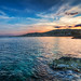 Seduto su uno scoglio a Capo Mulini by falcoprof