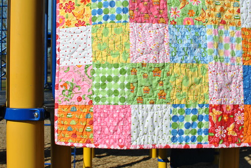 Love U Charm Quilt and Orange Peel Quilting Tutorial