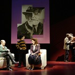 In the Huntington Theatre Company's production of William Finn and James Lapine's musical