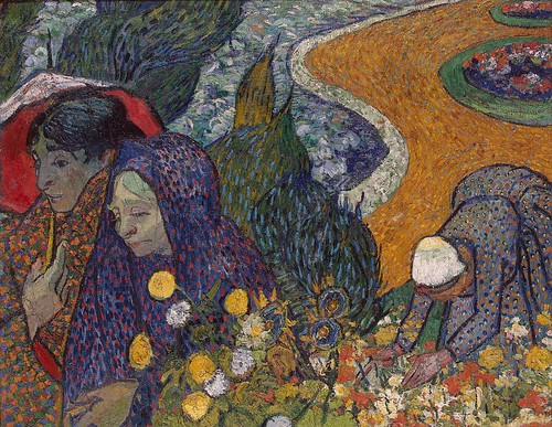 Vincent van Gogh - Memory of the Garden at Etten [1888] by Gandalf's Gallery
