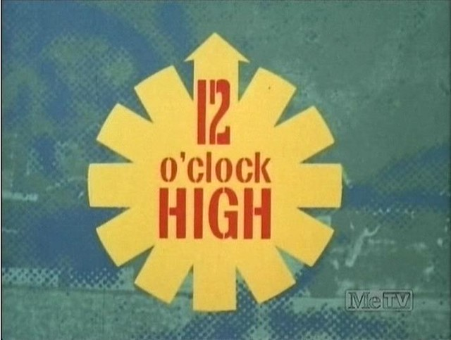 12 o'clock High is an American war film from 1949! We hope you get a 12 o'clock high from our new opening hours.