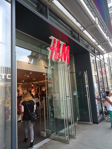 Sucursal H&M en Nueva York