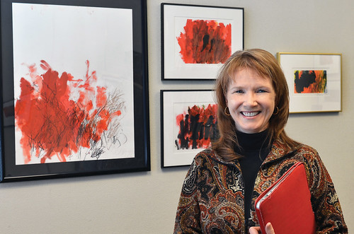 Graphic design prof Deb Satterfield leads team in autism research and outreach (photo: Bob Elbert)