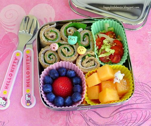 Sandwich Rollups EcoLunchBox Bento by sherimiya ♥