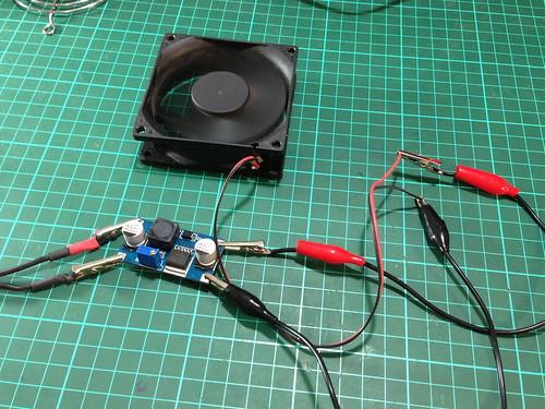 Testing Fan on Boost Converter