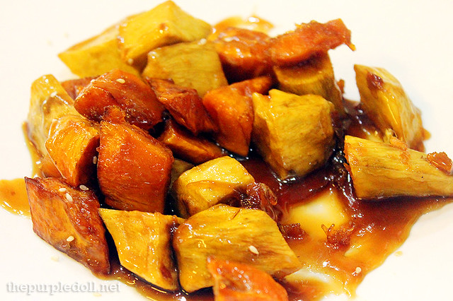Mattang (Caramel-Glazed Sweet Potatoes)