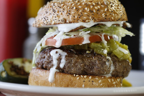 Green Chile Cheeseburger Santa Fe