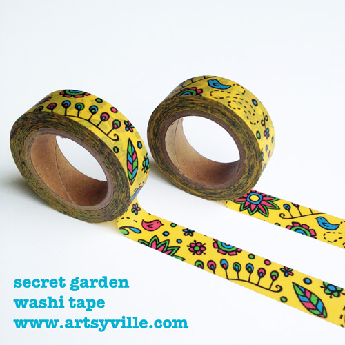 secret-garden-washi-tape-with-artsyville2