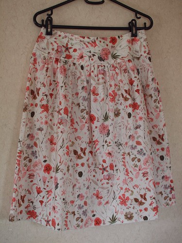 Gatherd skirt