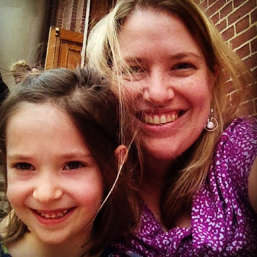 Me and my girl, Becca's first orchestra concert.