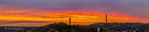 sunset cloud sun tower silhouette set clouds photoshop canon is flickr sweden towers silhouettes sunsets adobe sverige stm hdr cloudporn solnedgång uddevalla photomatix 18135 650d t4i cs5 canon650d photoshopcs5 canont4i 18135isstm lightroom43 canon18135stm håljuteberget