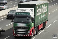 Volvo FH 6x2 Tractor - PX10 DFG - Gemma Lucy - Eddie Stobart - M1 J10 Luton - Steven Gray - IMG_9074