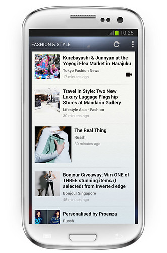 NewsLoop on Android
