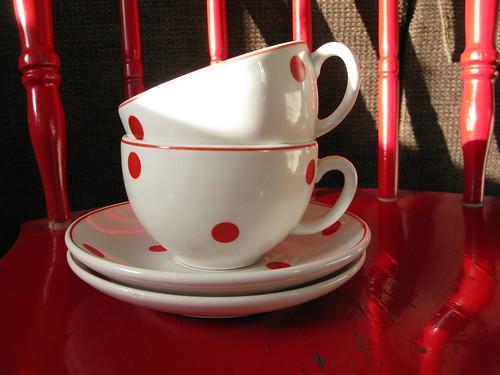 New teacups