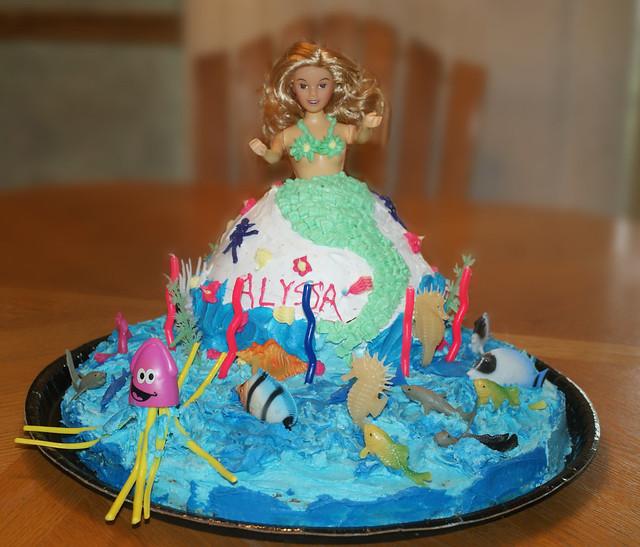 Happy Birthday Sherry Thin Mint Cake