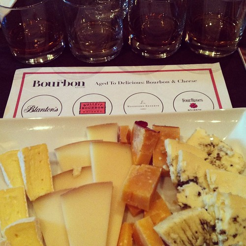 Bourbon and cheese pairing