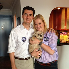 Special thx to the amazing @whgnyc for hosting a house party for my campaign today! #ken2013 #uws