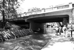 Market St  Bridge over San Antonio River, san Antonio, Texas 1306021523BW