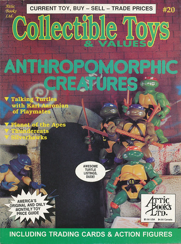 Collectible Toys & Values #20 ::  ' ANTHROPOMORPHIC CREATURES' (( July 1993 ))  [[ Courtesy of A.W. ]]