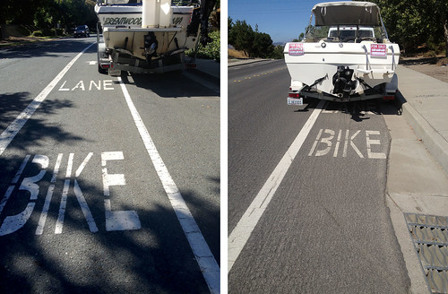 Two boat bike lane hell
