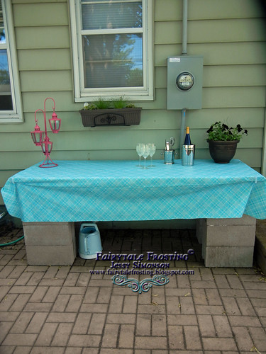 DIY Patio Bar
