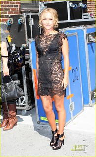 Hayden Panettiere Sheer Dress Celebrity Style Women's Fashion