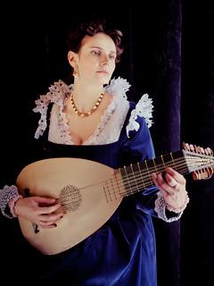 Anya in venetian costume