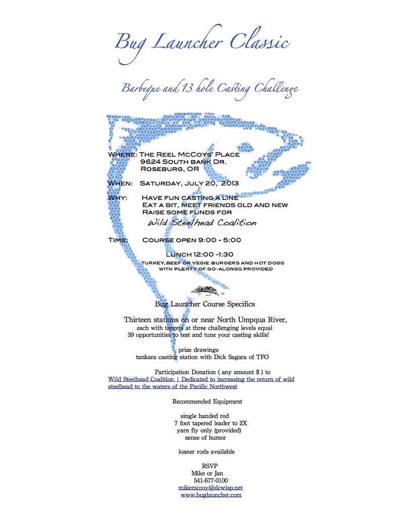Wild Steelhead Coalition Fundraiser July 20th 2013 | The Caddis Fly