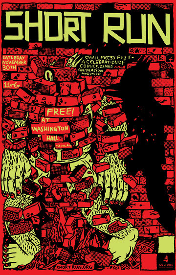 Festival poster (Short Run Comix and Arts)