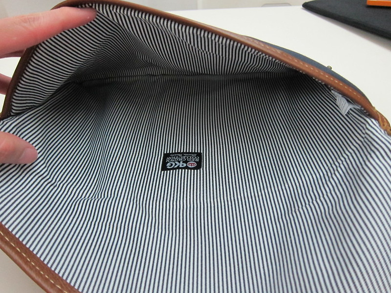 PKG Slim Sleeve for MacBook Air 13 Inch - Inside View (100% Cotton Interior Lining)