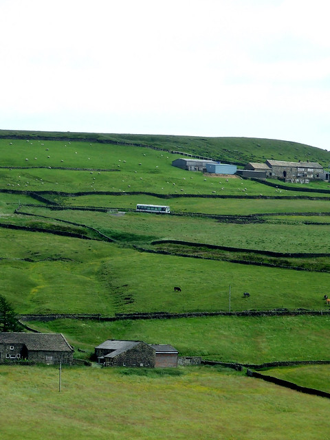 landscape with bus