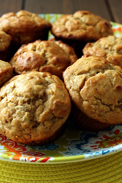 9233449905 a1ae063e4d z Monday Muffins, Secret Recipe Style: Peanut Butter Banana