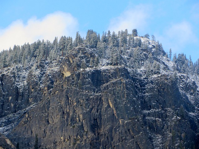 Snow-Dusted Peak