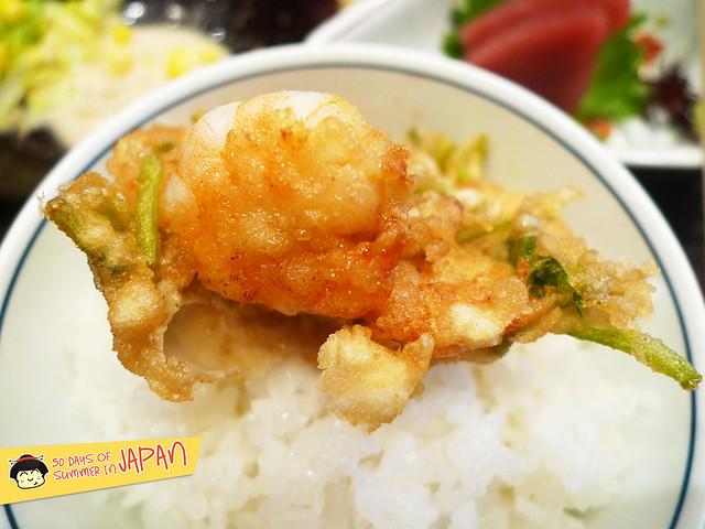 Tempura Hisago - shrimp ball tempura