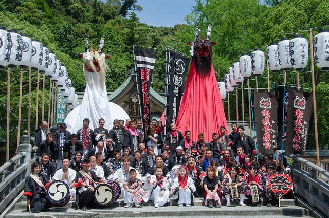 Ushi-oni festival