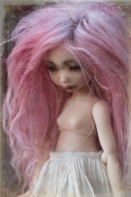 Cassiopée pink wig