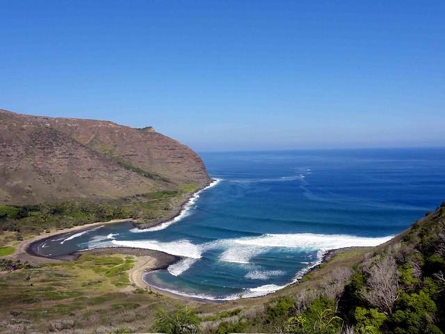 Hawaii Usa 3 Peaceful Quiet Days On Molokai Road