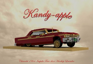 'Kandy-apple' - 1964 Chevrolet Impala Four-door Hardtop Lowrider