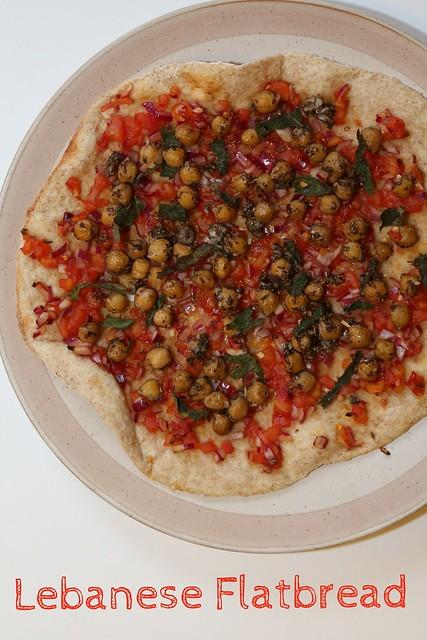 Lebanese flatbread