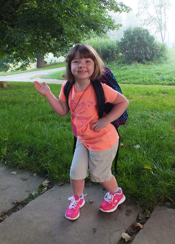 My Kindergartener!