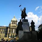 Piazza San Venceslao a Praga