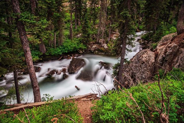 Hidden Falls, Jenny Lake