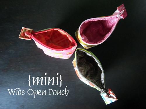 {mini} Wide Open Pouch
