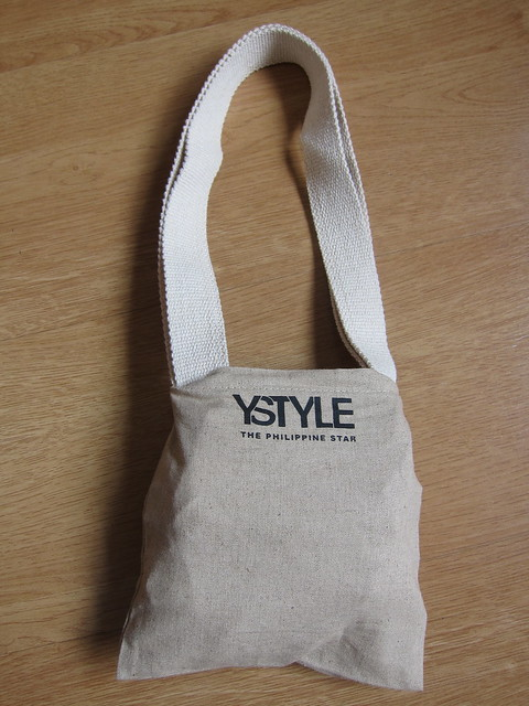 How to fold the YStyle bag