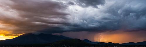 arizona sky storm weather clouds landscape unitedstates cell flagstaff monsoon lightning sanfranciscopeaks doneypark autoimport daylightlightning nuvatukya'ovi dook'o'oosłííd wimunkwa