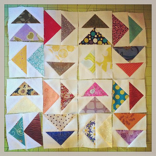 Super tedious quilt blocks #quilting
