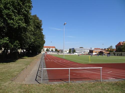 Post-Sportplatz Magdeburg