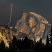 Half Dome and Lightning, Yosemite National Park, California by William Neill