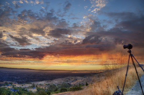 california sunset clouds raw fav50 cloudy sanjose siliconvalley hdr cloudscape mthamilton 3xp photomatix nex6 selp1650