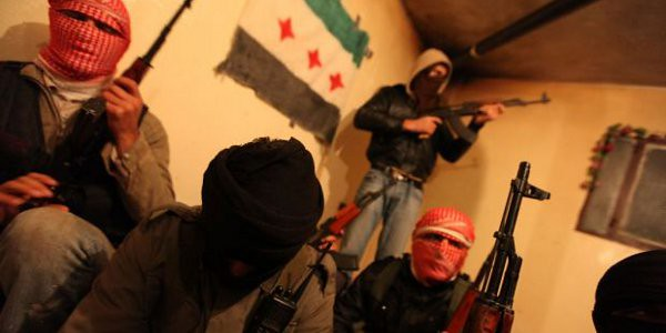 Rebels in Syria. Image courtesy Wikimedia Commons